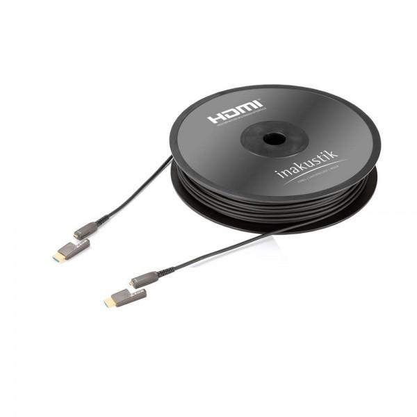 Profi HDMI-MICRO 2.0b LWL Kabel 4K