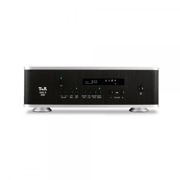 DAC 8 DSD schwarz-silber V 2.6