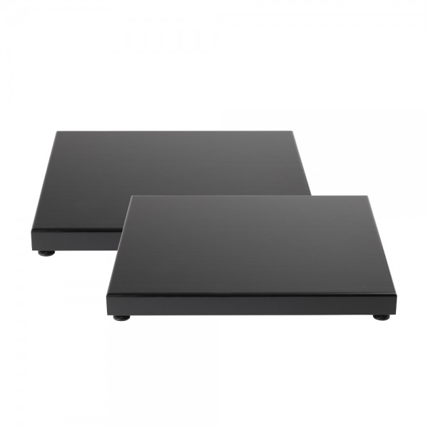 54009 Absorberplatte 300x360x36, schwarz (Paar)