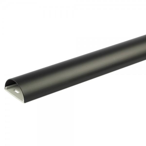 Aluminium Kabelkanal schwarz 0075