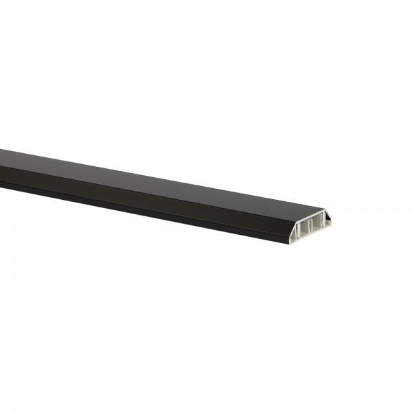 Profi Aluminium Kabelkanal schwarz 0075
