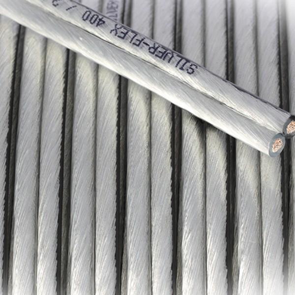 SILVER-FLEX MKII transparent 2,50 mm² 100m Spule