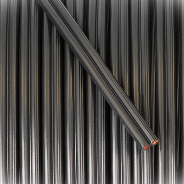SPEAKER-FLEX 2x1,50mm² schwarz 200m Spule