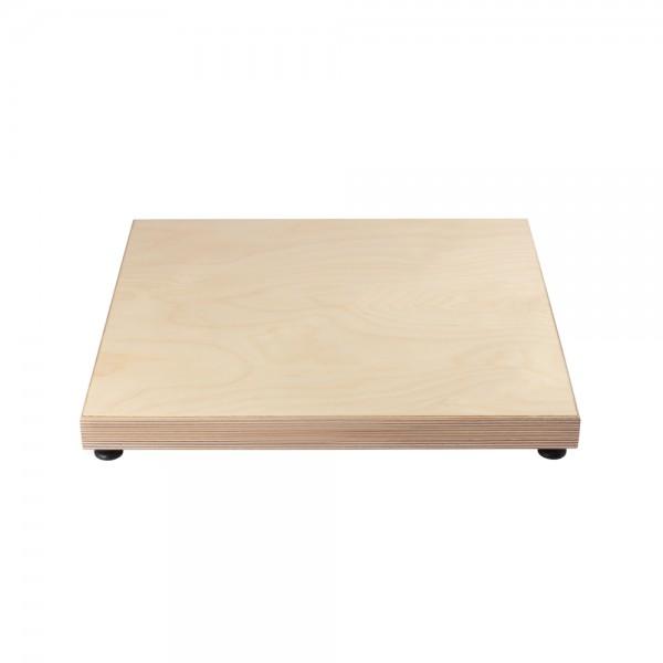 54012 Absorberplatte 440x400x36, Buche natur