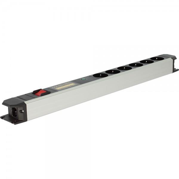 POWERLINE FLEX 6er Vollschutz mit Schalter